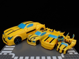 トランスフォーマー サイバーバース TCV-05 スティンガーソード バンブルビー (57)