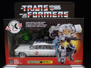 TRANSFORMERS Ghostbusters Ecto-1 Ectotron (2)