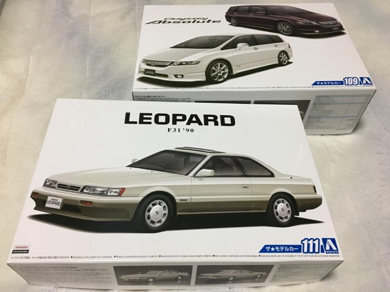 モデルカー 後期 レパード