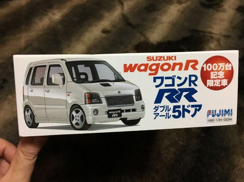 フジミ ワゴンR 100万台記念限定車