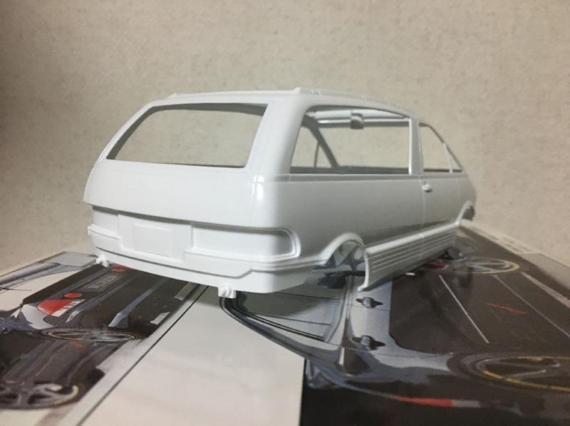 アオシマ TCR エスティマ モデルカー ノーマル