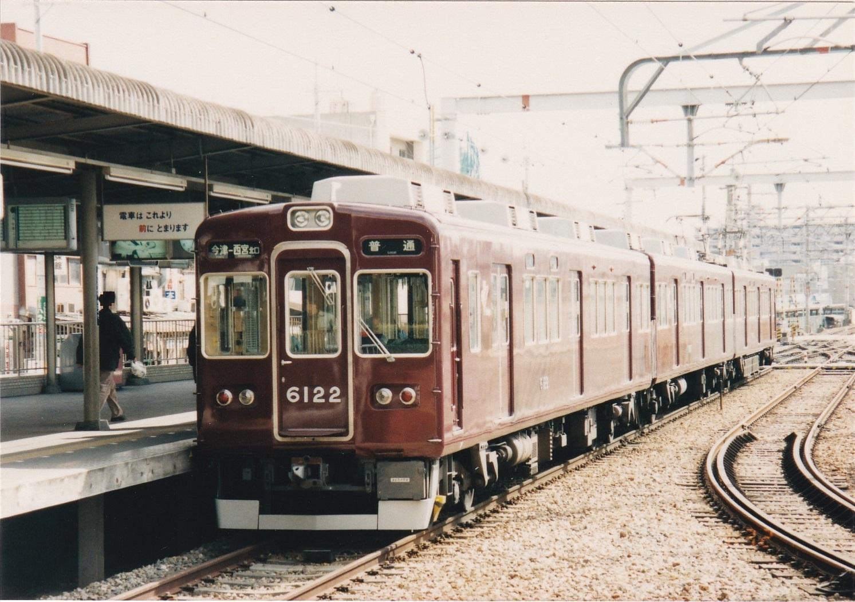 阪急神戸線6000系6022編成 普通今津ゆき