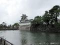 パレード後に富山城を撮る1