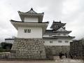 パレード後に富山城を撮る2