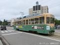 富山駅付近の市電