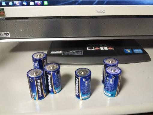 EVOLTA NEO単1電池
