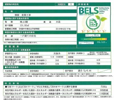 BELS取得