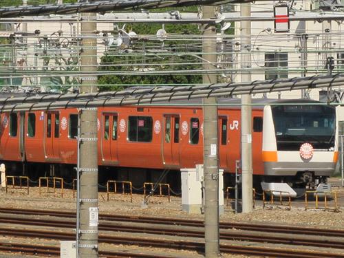 復刻オレンジ電車