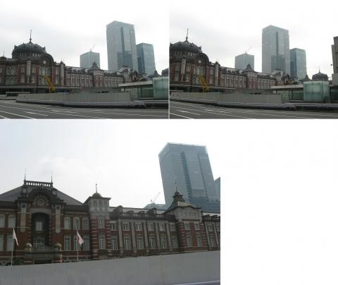 山手線東京駅、丸の内駅舎201607(その3)