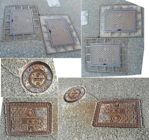 01東伊豆町の制水弁(連結、正定寺前)0