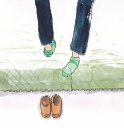 いもあられ@靴下がああああああああああ