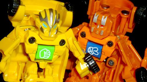 山二 じゃんけんカー ROBOT DEFORMATION