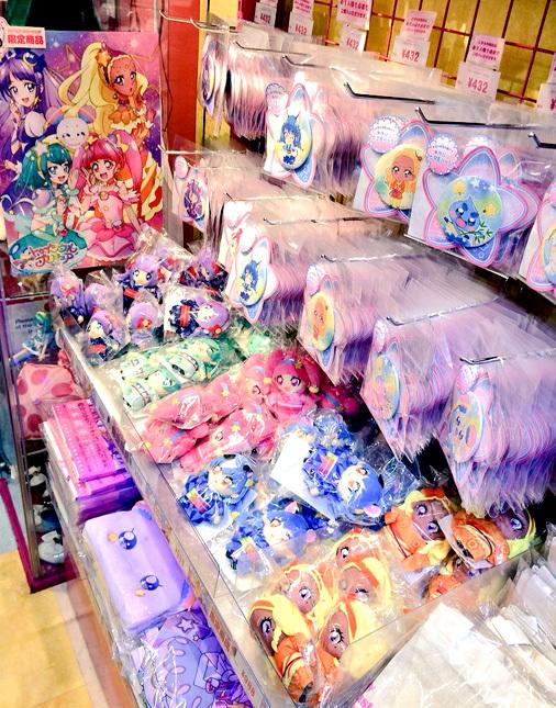 プリキュア プリティストア 東京店 2019.7