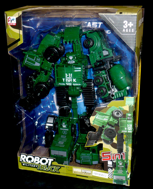 DHM ROBOT MIRITARY TRUCK