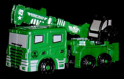 DHM ROBOT MIRITARY TRUCK ROBOT MIRITARY TRUCK BABEL ARM
