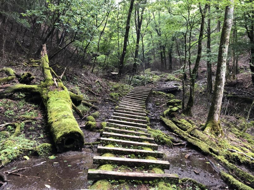 笠取山でヤラれまくる35
