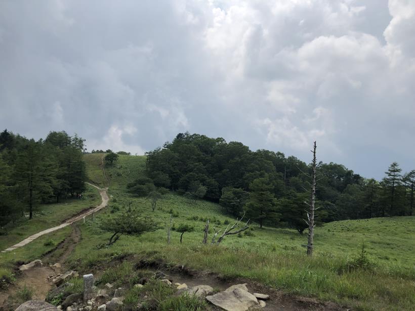 笠取山でヤラれまくる85