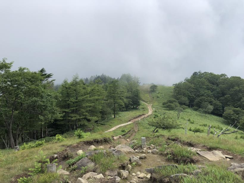 笠取山でヤラれまくる156