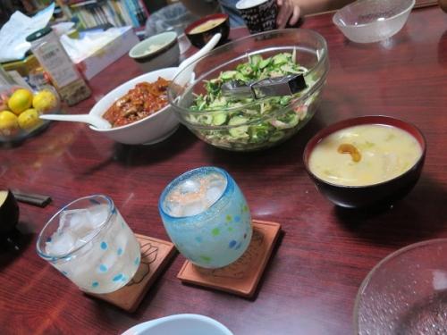 冬瓜とコーンの中華スープ