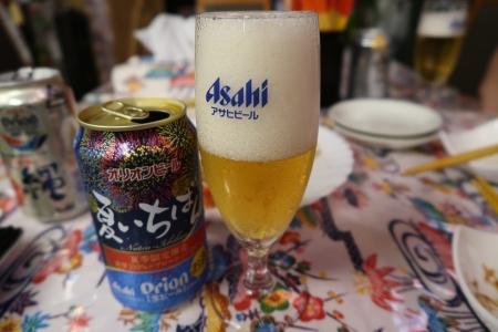 花火缶オリオンビール