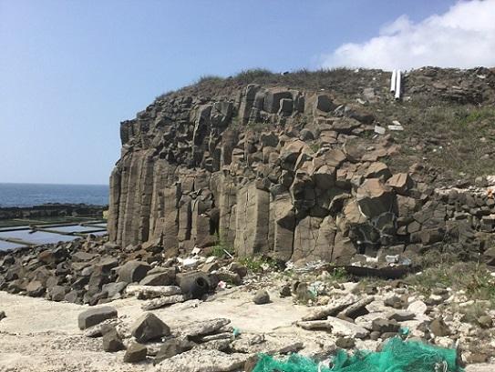 柱状玄武岩群