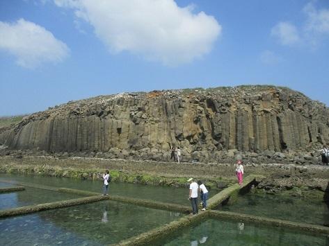 柱状玄武岩群2