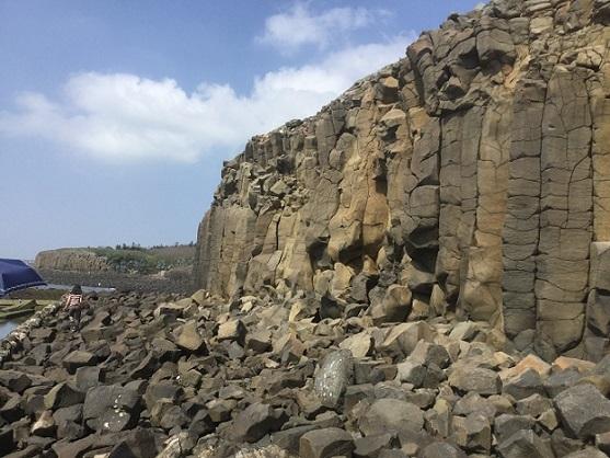 柱状玄武岩群3