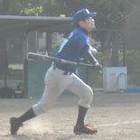 5回裏、戸田が適時二塁打を放ち9-2