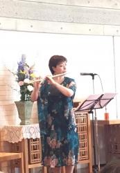2019年5月19日田中愛子さんボサノバライブ@京都葵教会1