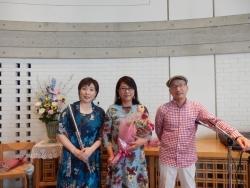 2019年5月19日田中愛子さんボサノバライブ@京都葵教会13