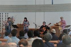 2019年5月19日田中愛子さんボサノバライブ@京都葵教会15