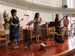 2019年5月19日田中愛子さんボサノバライブ@京都葵教会23