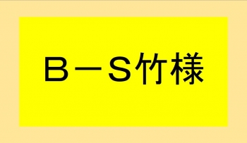 B-S竹様