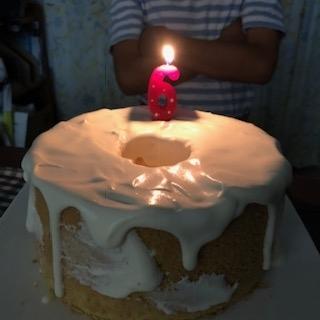 次男くん6歳誕生日