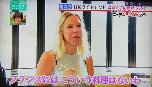 天極堂奈良本店葛きり葛とじごはんミント2019070510