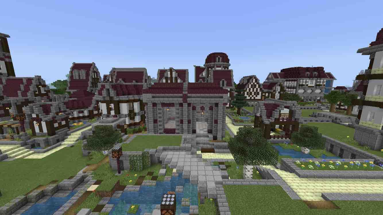 マインクラフトで大きな街を作っていくよ!バニラで建築日記