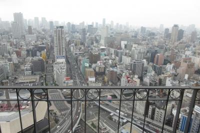 大阪のホテルの景色
