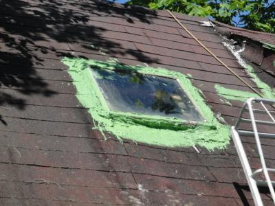 2天窓の修理