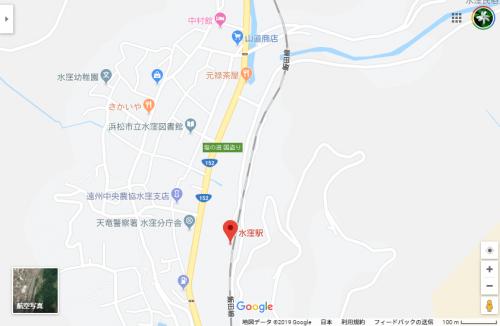 Google Maps の地図に表示されなくなった川