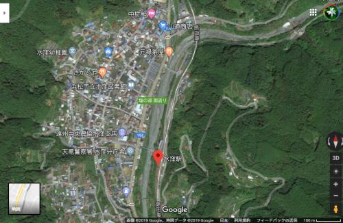 水窪駅 Google マップ1