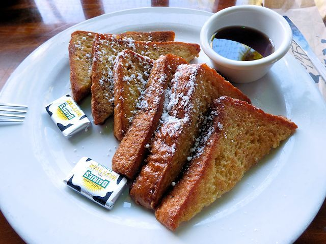 ルルズワイキキのフレンチトースト
