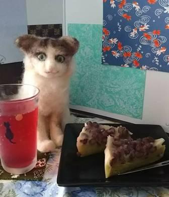 水無月・紫蘇ジュース