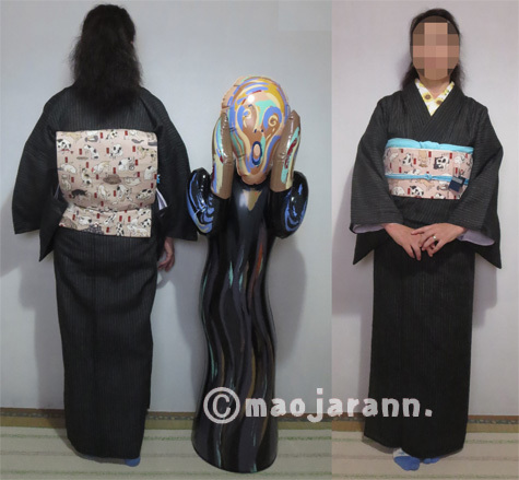 7-30黒小千谷縮×国芳猫03