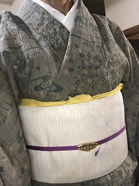 8-18美由紀本麻上布×メダカ帯01