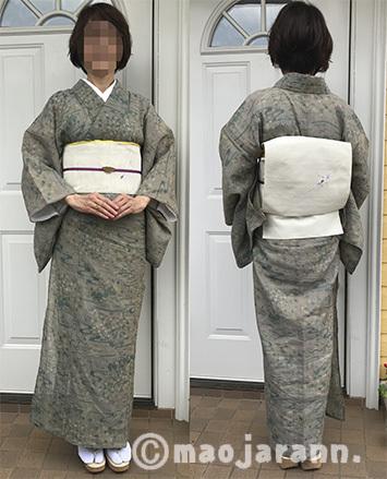 8-18美由紀本麻上布×メダカ帯02