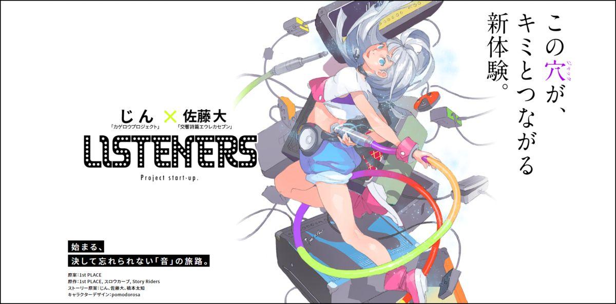 Listeners アニメ