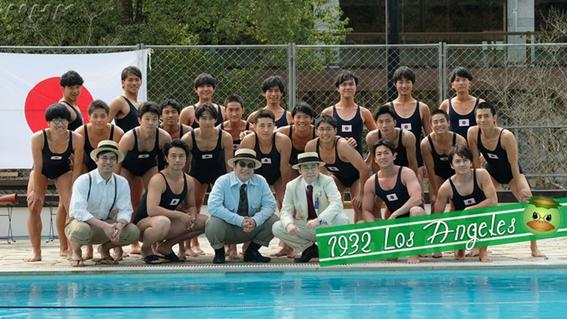 1水泳選手団
