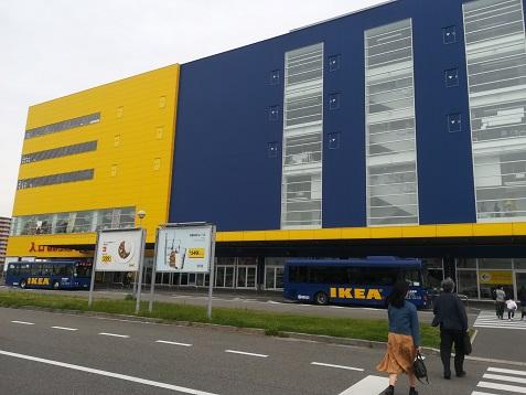 4 IKEA鶴浜へ到着
