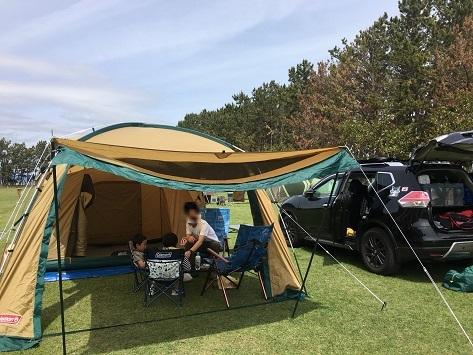 1 昨日の浜名湖 キャンプ