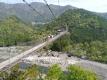 5 谷瀬の吊橋 全景 大